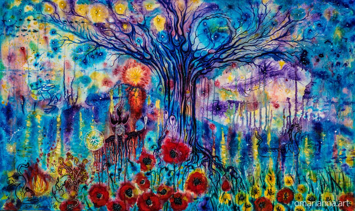 """Cosmic Tree"" - SOLD"
