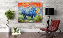 Siberian unicorn | Marianna Ochyra