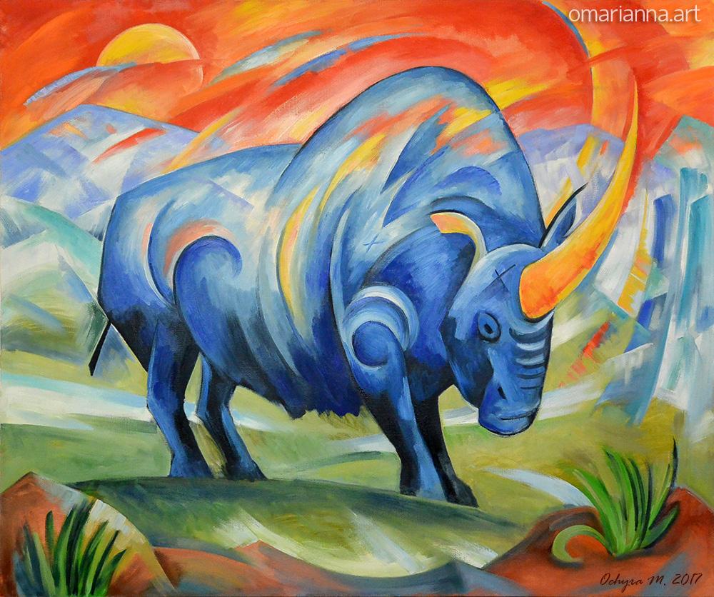 """Siberian unicorn"" - $2000"