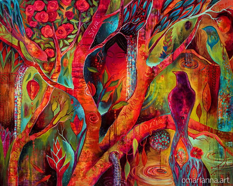 Tree of Zhiva   Marianna Ochyra