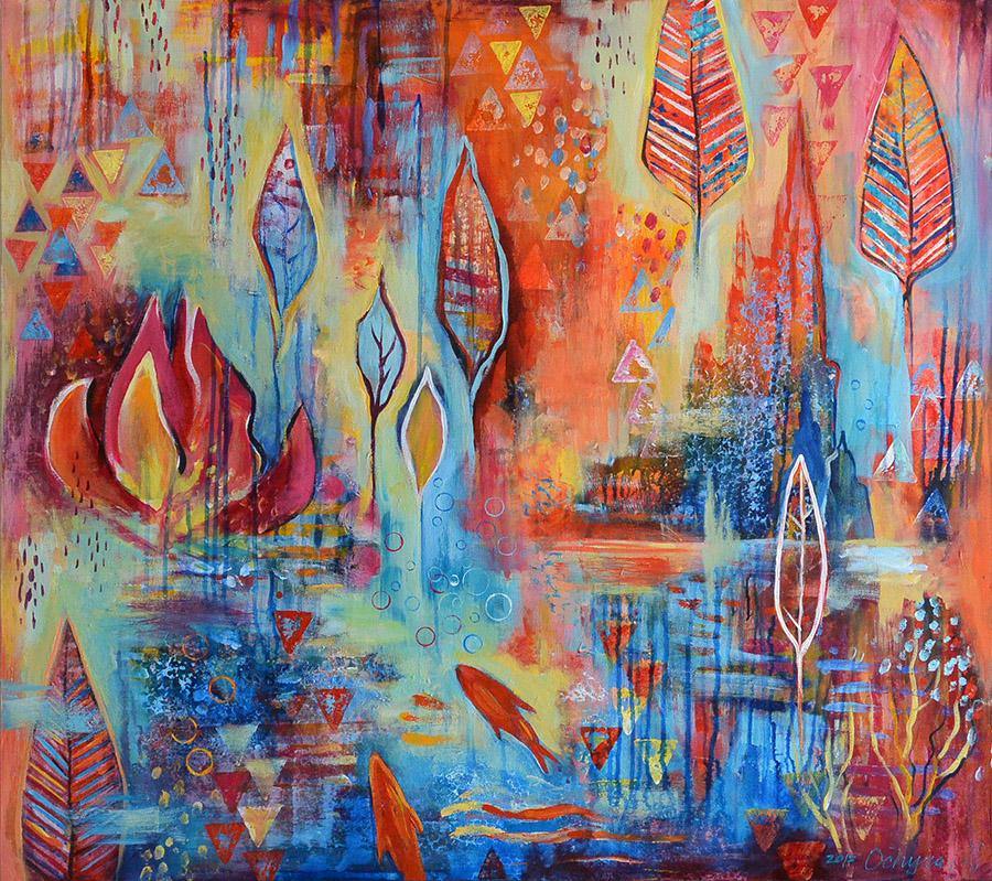 Red fishes | Marianna Ochyra