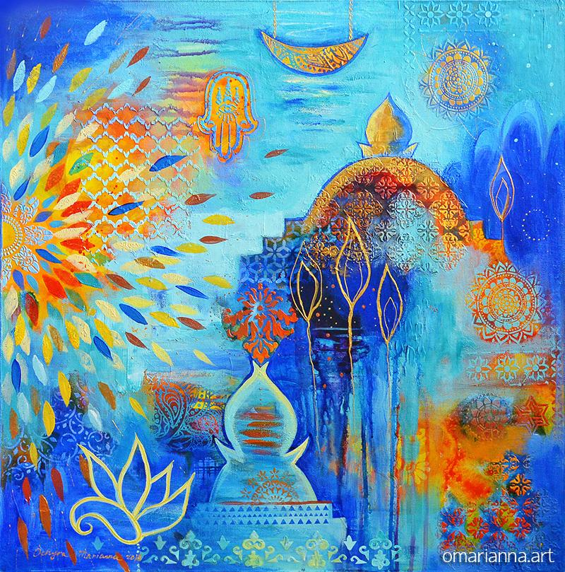 Марокканские ночи 1. Диптих