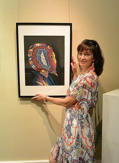 художник Марианна Очира интуитивная живопись