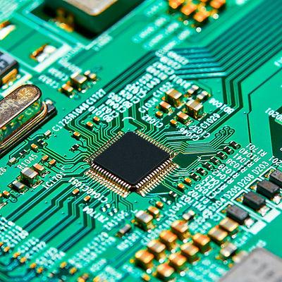 Electronic circuit board close up..jpg