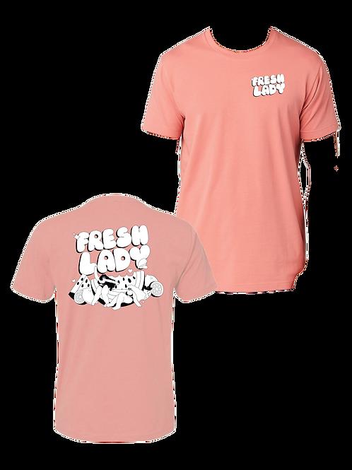 Unisex Fresh Lady T-Shirt - Pink