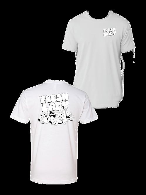 Unisex Fresh Lady T-Shirt - White