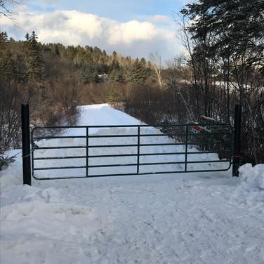 16 foot gate