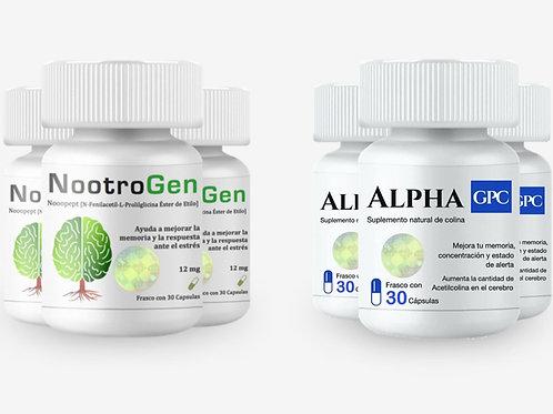 PROMOCIÓN NOOTROGEN 3 + ALPHA GPC 3