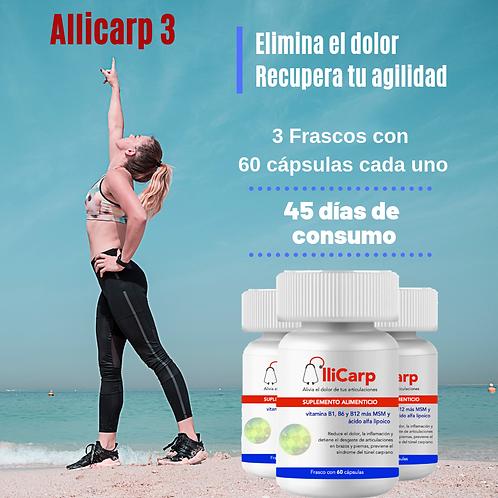 AlliCarp 3 frascos