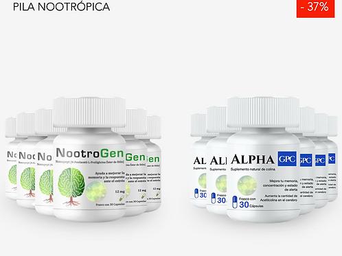 NootroGen 6 + 6 Alpha GPC