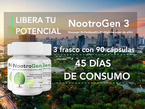 NootroGen 3 (Noopept 12 mg)