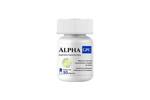 Alpha GPC 1 frasco con 30 cápsulas