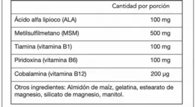 informacion nutrimental allicarp