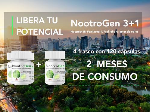 NootroGen 3+1 (Noopept 12 mg)