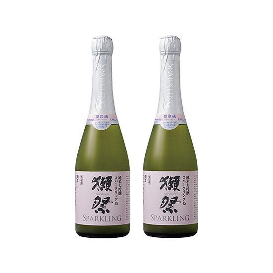 獺祭 有氣濁酒 45 純米大吟釀 (兩支裝)
