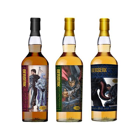 烙印戰士 Ben Nevis 23年 & Secret Speyside 26年 & Irish Whiskey 17年