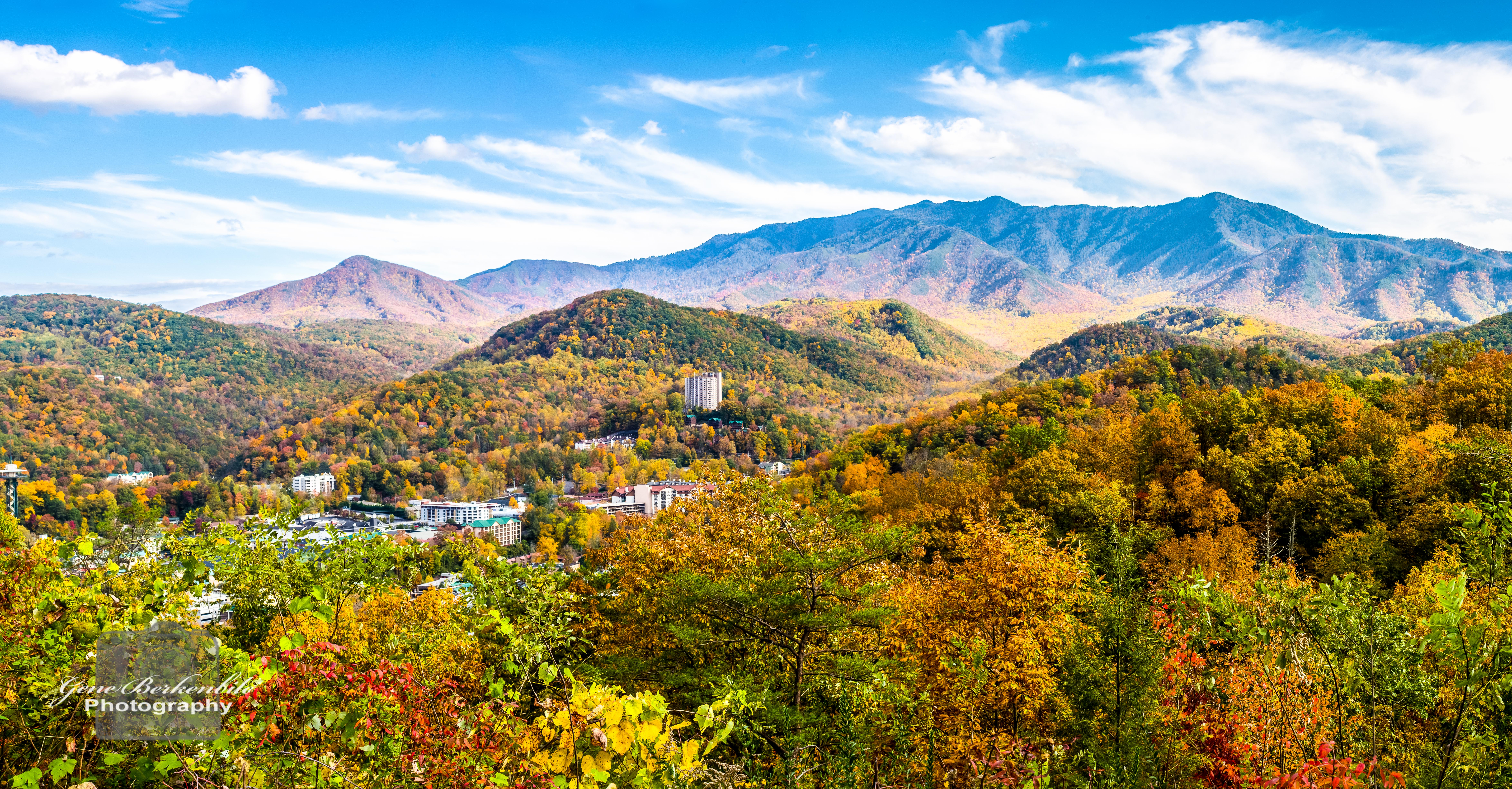 Smoky Mountains in the Fall