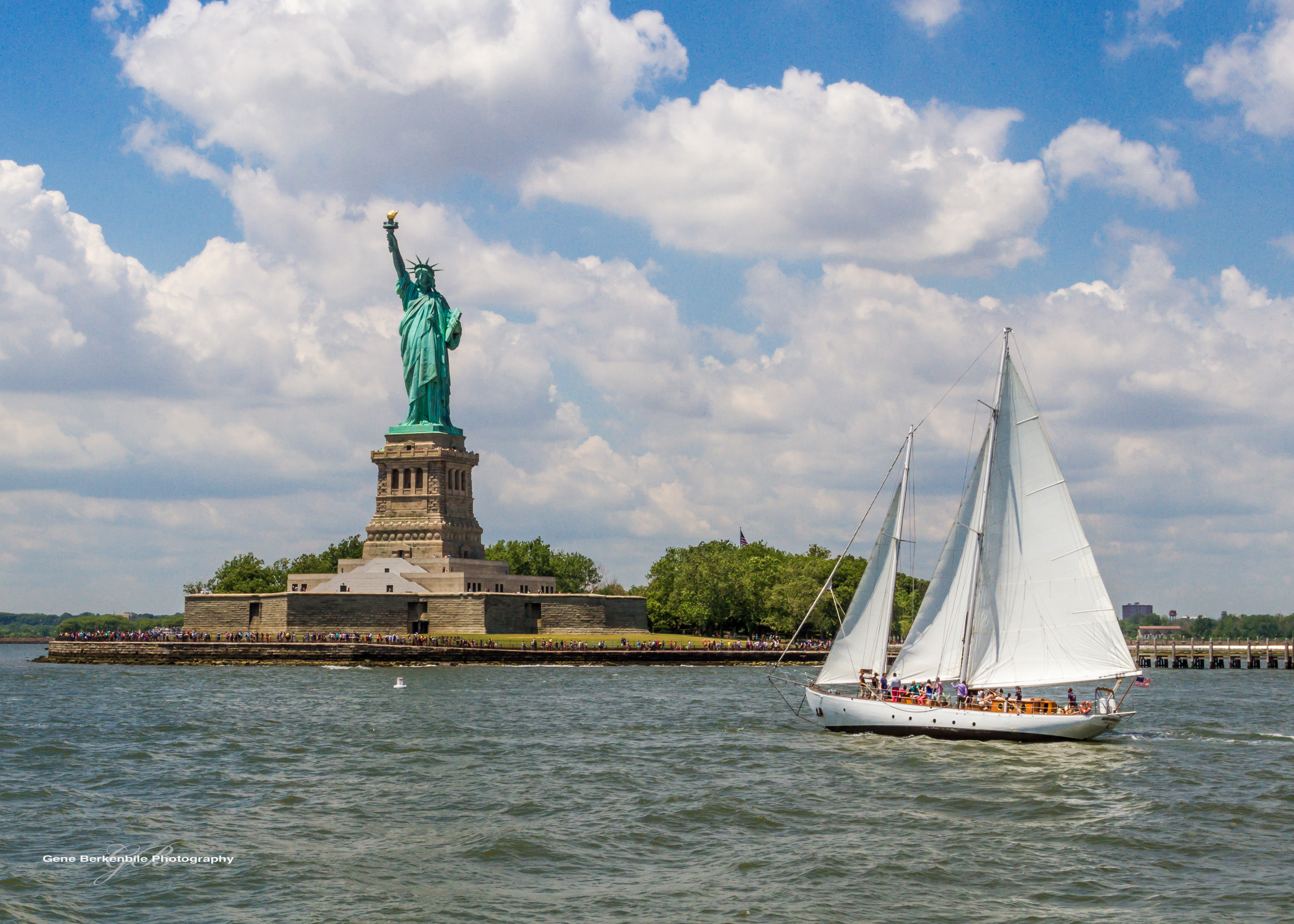 Statue of Liberty & The Sailboat