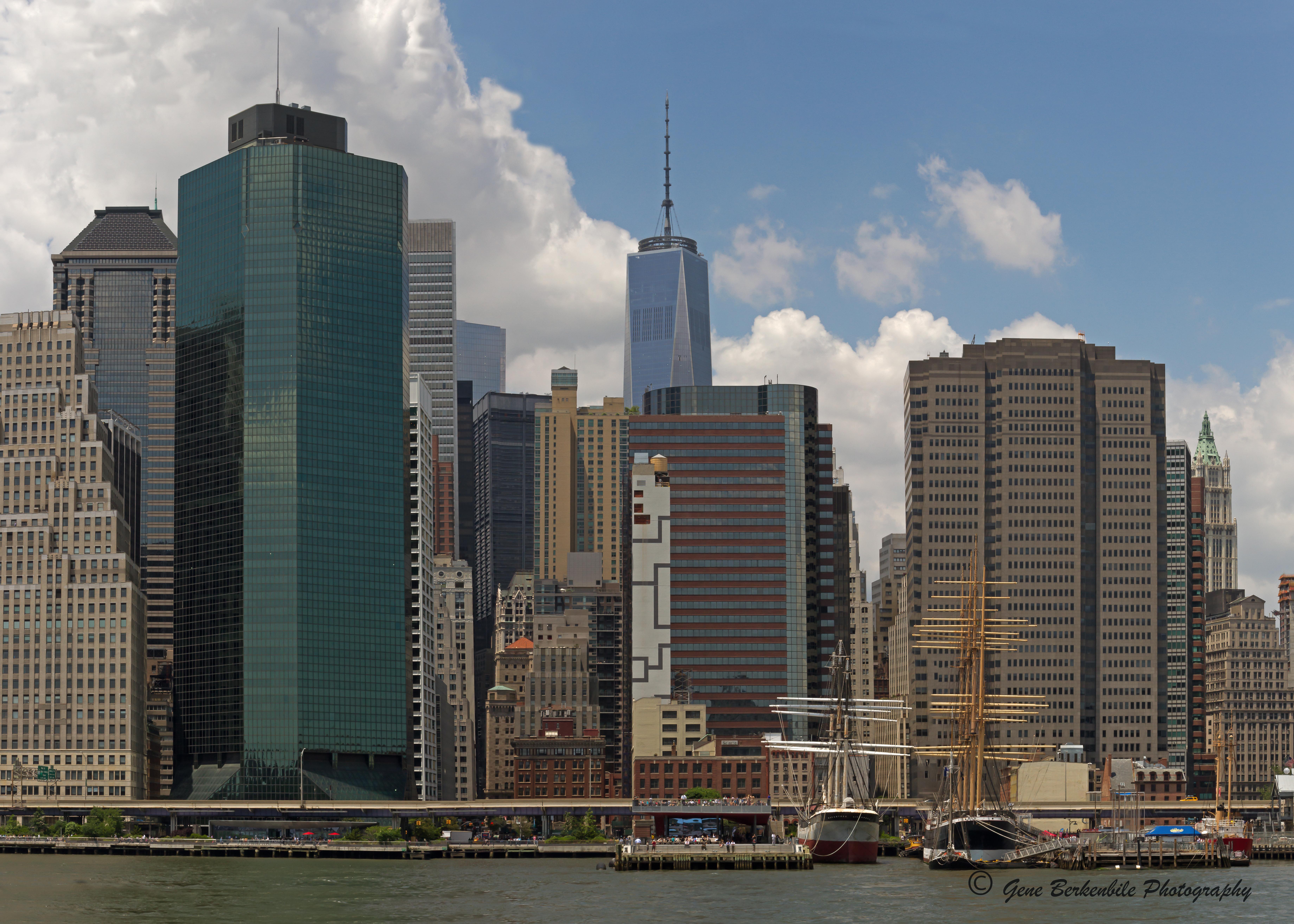 Manhattan East Pier Photography