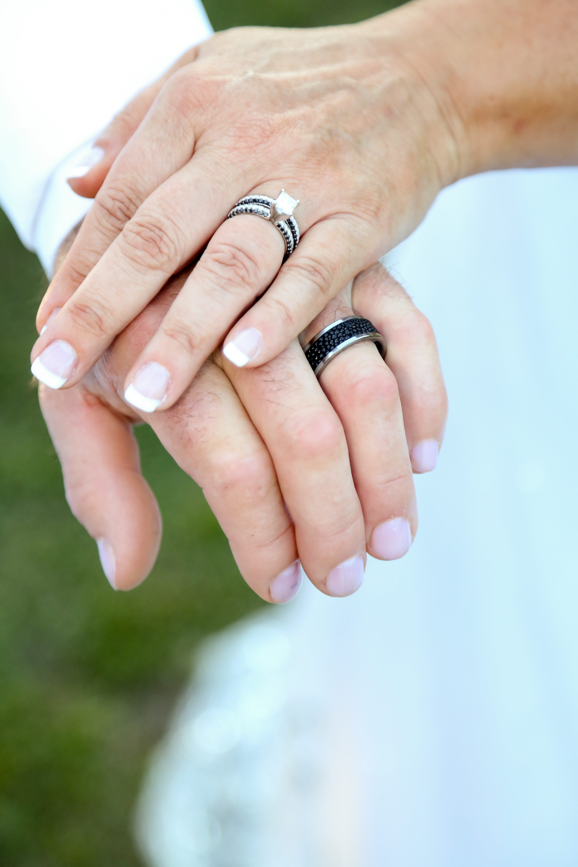Wedding Couple's Rings Photography