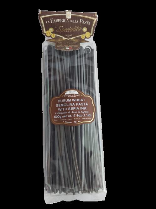 Durum Wheat Semolina Pasta with Sepia Ink