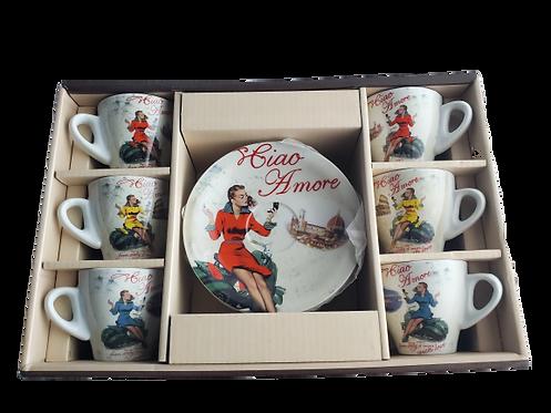 Ciao Amore Espresso Cup Set
