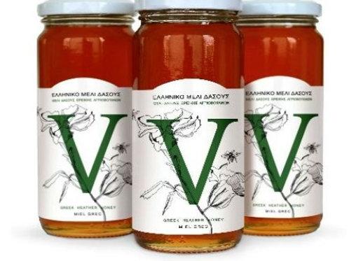 Wild Forest Heather & Wild Herbs Greek Honey