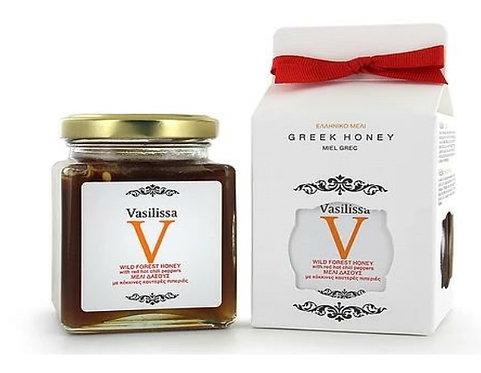 Vasilissa Honey with Red Chily Pepper