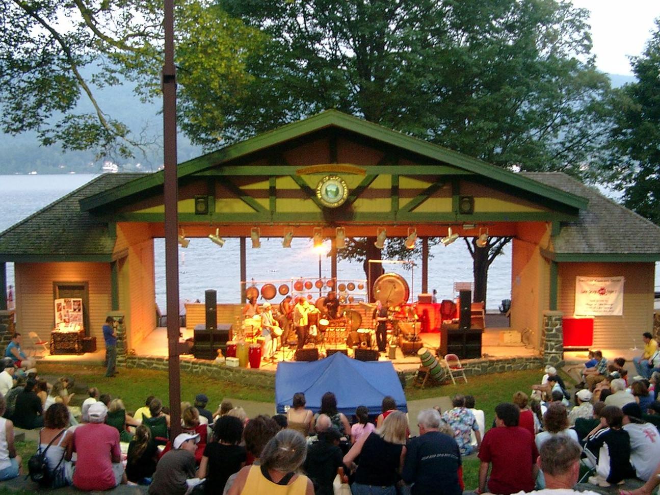 Lake Kora  Historic Adirondack Great Lake  New York State  August 2020