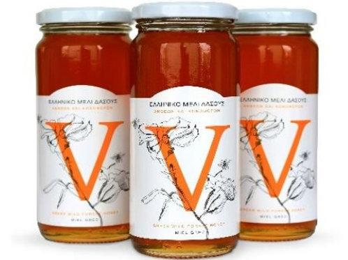 Wild Forest Herb Greek Honey