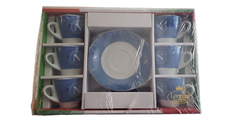 Napoli FC Espresso Cup Set