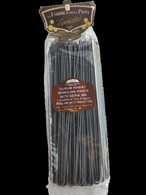 Spaghetti di Gragnano al nero seppia