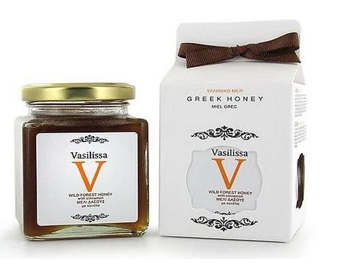 Vasilissa Wild Forest Honey with Cinnamon Sticks
