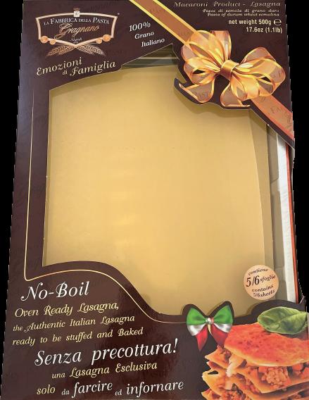 Emozioni Familia-No Cook Lasagna Sheets