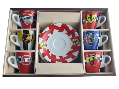 Auto Sport Cup Set