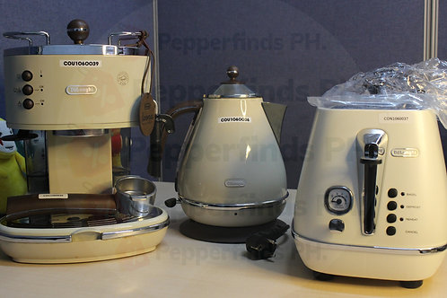 Delonghi Coffee Machine BEIGE SET