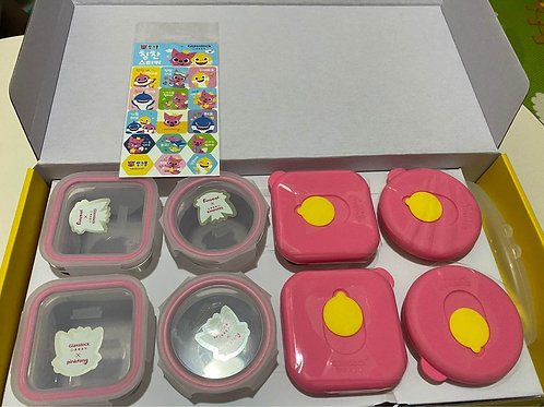 Glasslock PinkFong Food Container