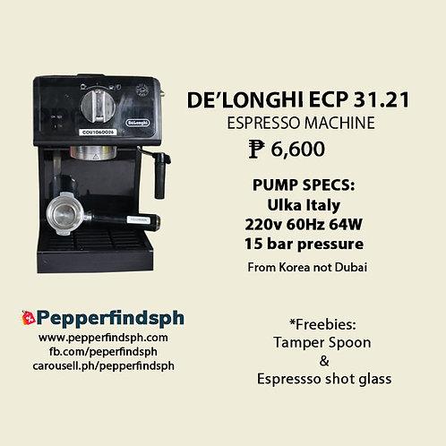 Delonghi ECP 31.21 EspressoMachine