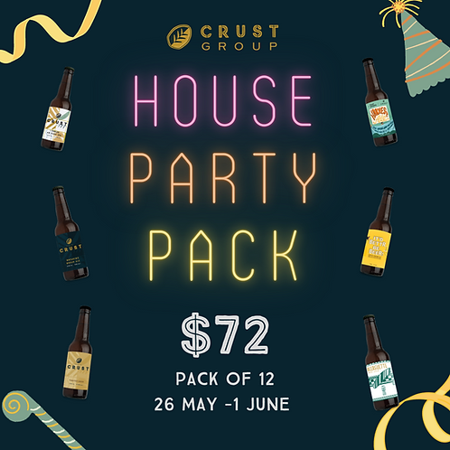 CRUST House Party Pack 🥳