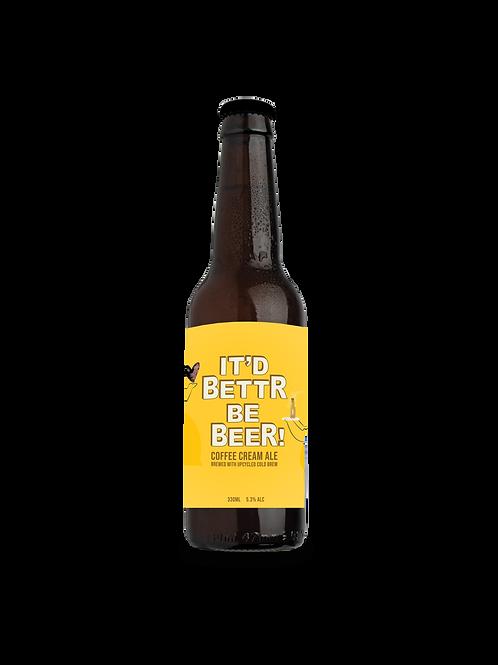 CRUST x Bettr Coffee It'd Bettr Be Beer!