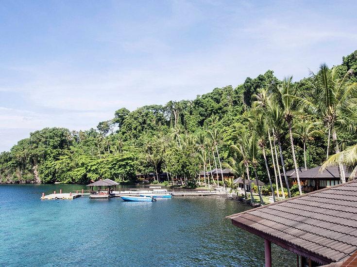 Kungkungan Bay Resort Sulawesi