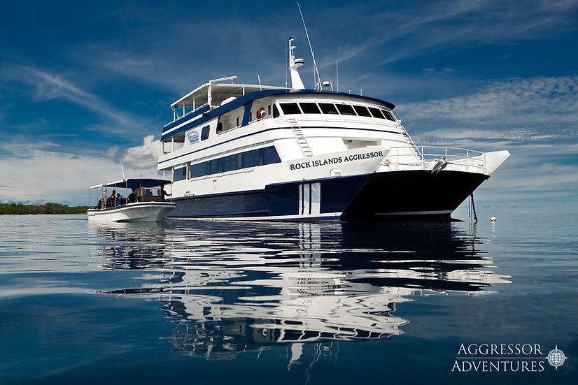 Palau Aggressor II and Rock Islands Aggressor