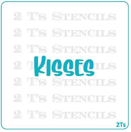 Kisses word