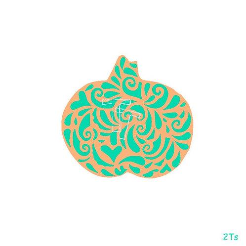 swirly pumpkin