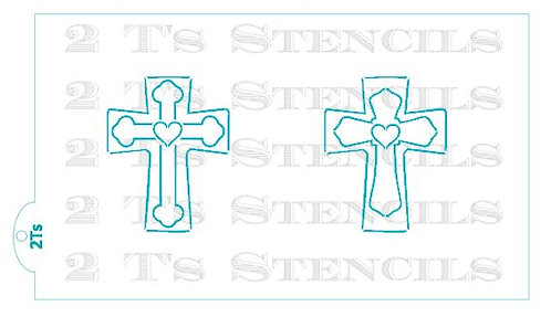 Large PYO CROSSES  for the Stencil Snap