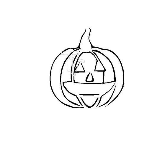 palette stencil pumpkin