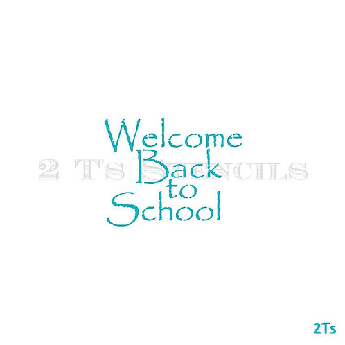 Welcome backl to School