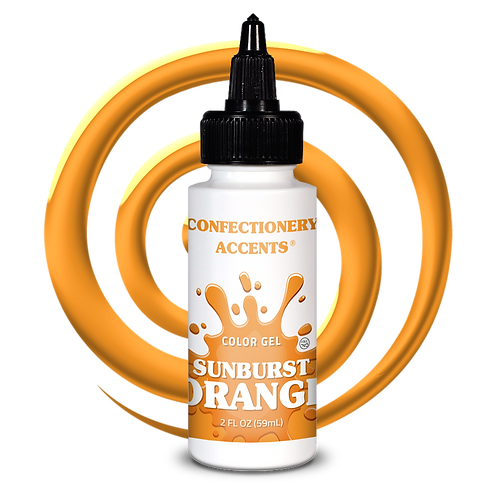 Confectionery Accent ORANGE GEL