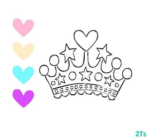 Princess Tiara Paint Your Own