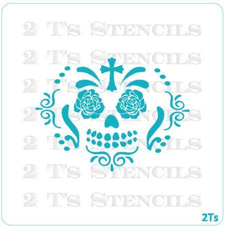 pumkin face sugar skull 4
